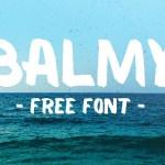 Balmy Brush Font Free