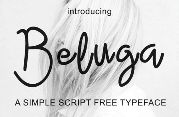 Beluga Script Font Free