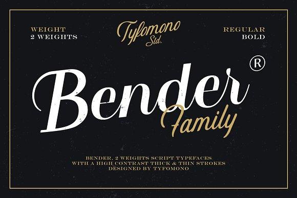 bender-script-font