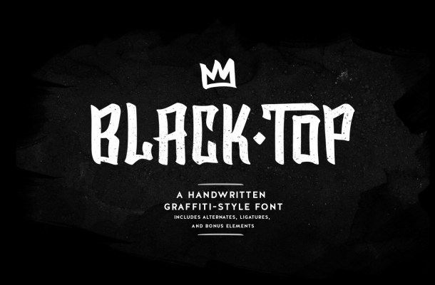 BlackTop Font Free