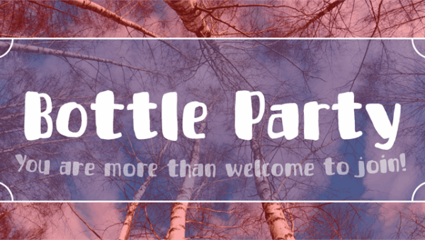 Bottle Party Font Free