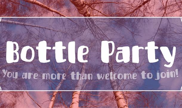Bottle Party Font Free