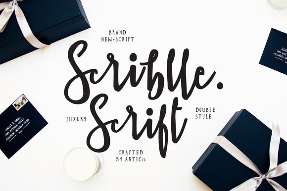 Scriblle Brush Script Font Free
