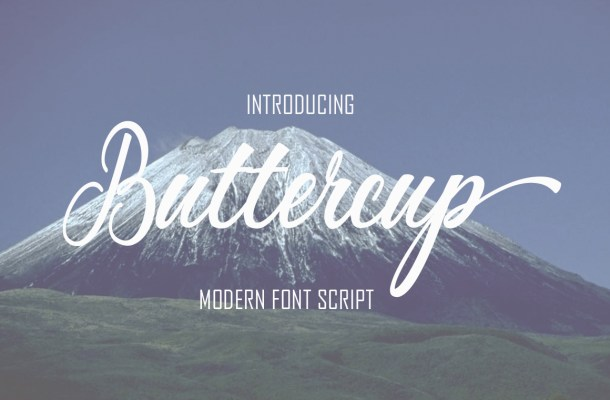 Buttercup Calligraphy Font Free