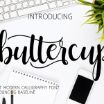 Buttercup Script Font Free