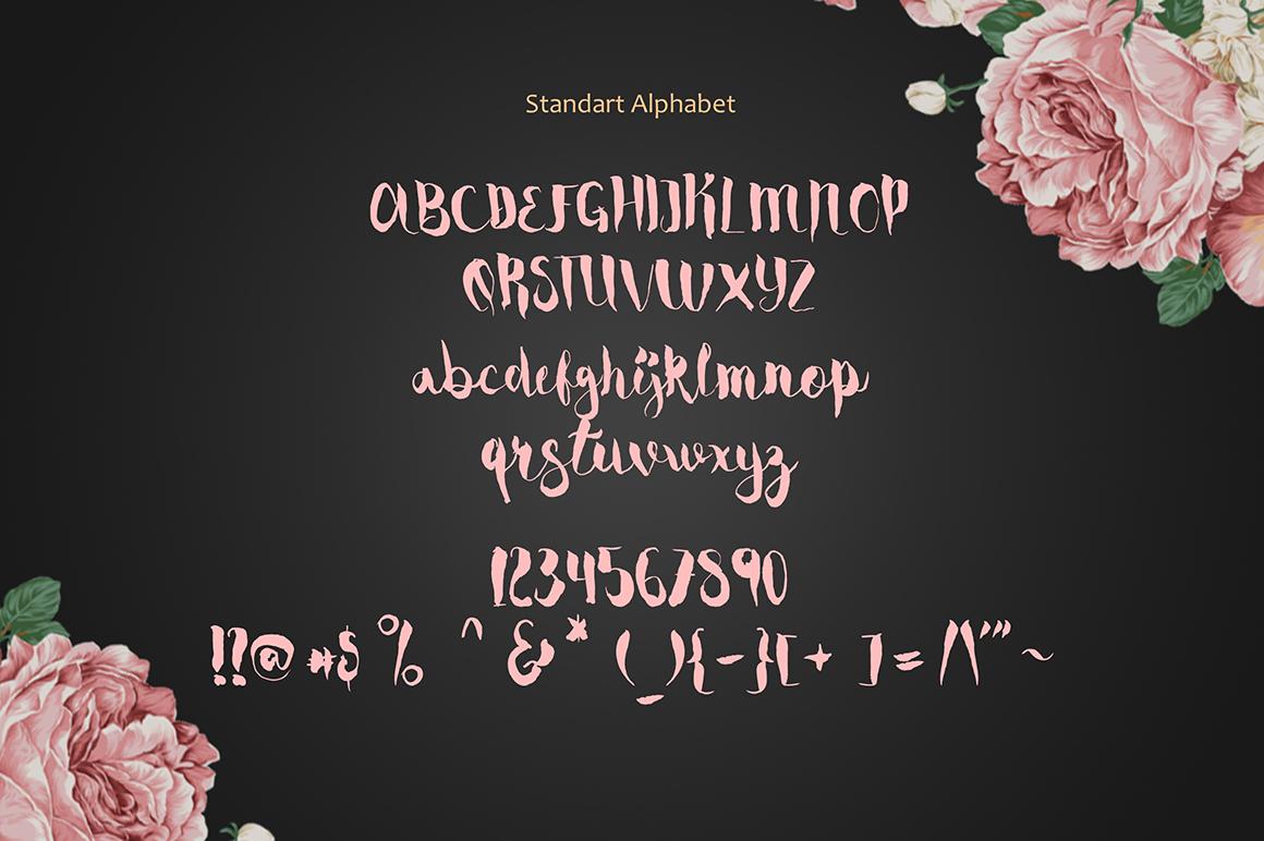 cassiopea-brush-font