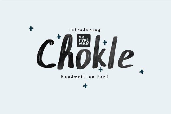 Chokle Font Free