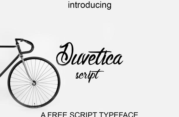 Duvetica Script Font Free