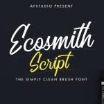 Ecosmith Script Font Free
