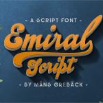 Emiral Script Font Free