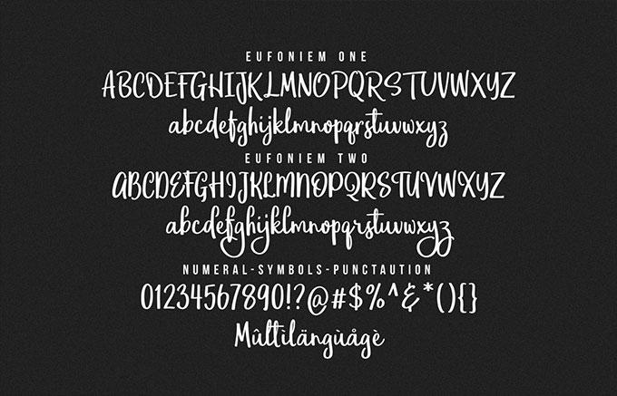 eufoniem-script-font-5
