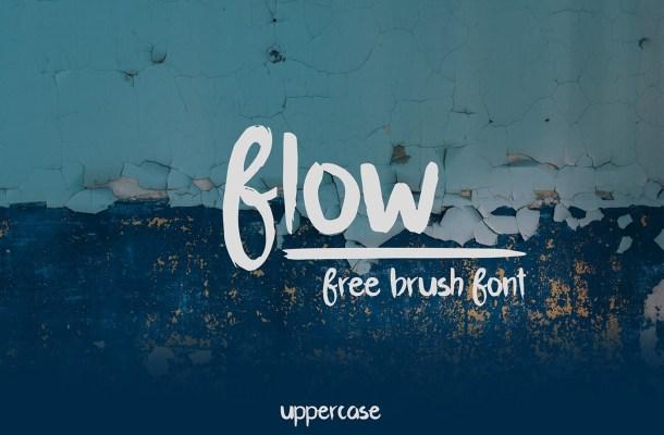 Flow Brush Font Free