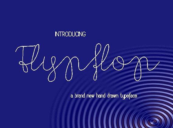 flypflop-font