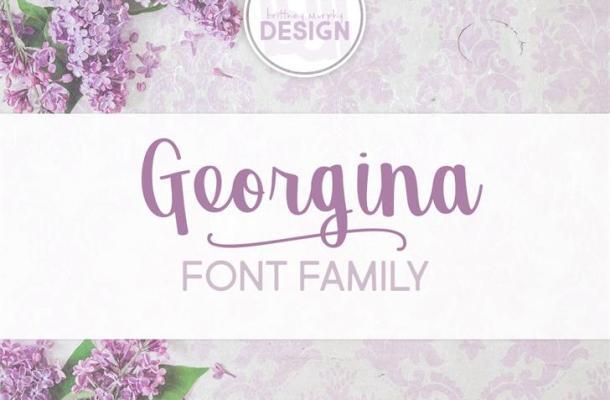 Georgina Script Font Free