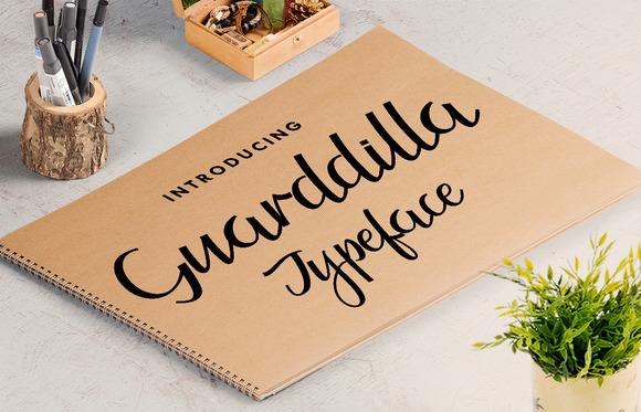 Guarddilla Typeface Free