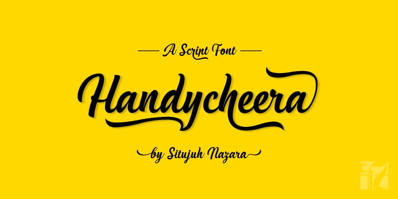handycheera-script-font