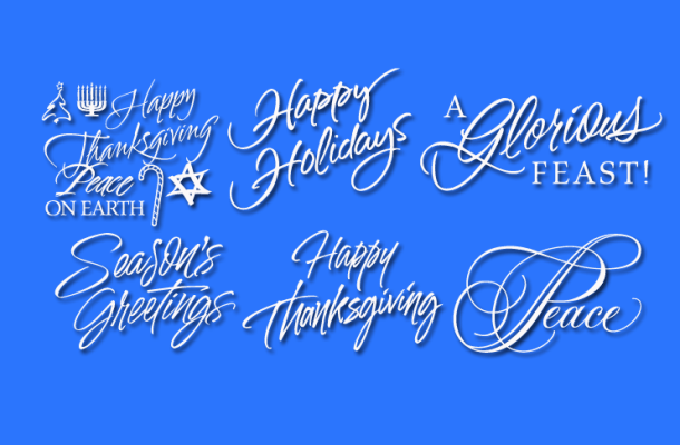 Holiday Font Free