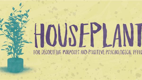 Houseplant Font Free
