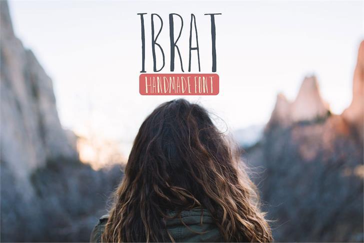 ibrat-font-created-by-creativetacos