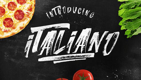 Italiano Brush Font Free