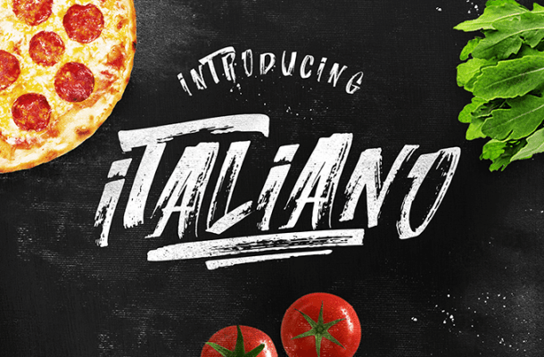 Italiano Brush Font Free