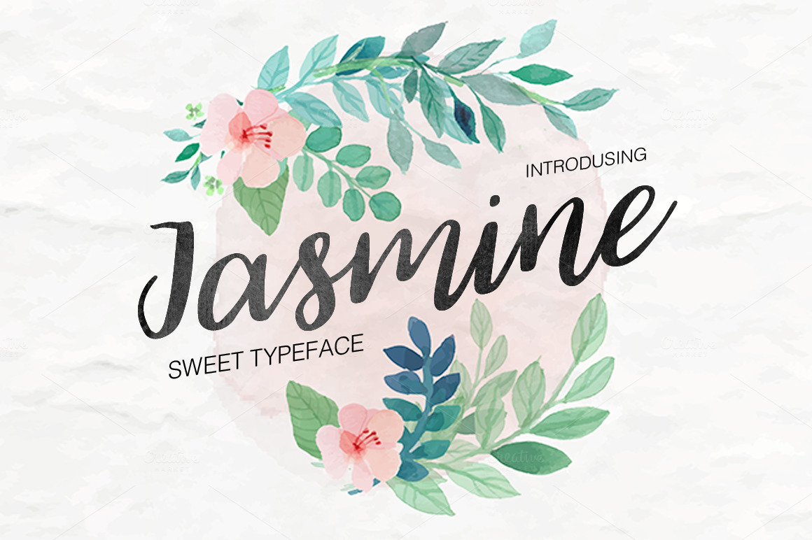 jasmine-script-font