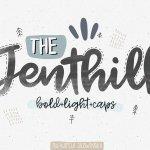 Jenthill Script Font Free
