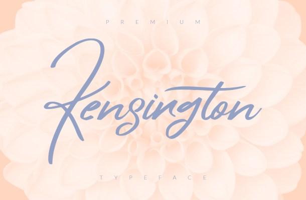 Kensington Script Font Free