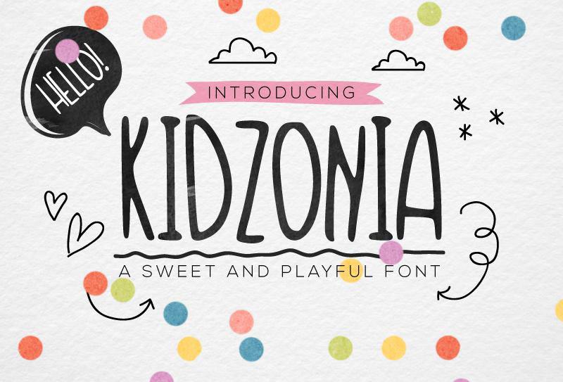 kidzonia-a-playful-free-font