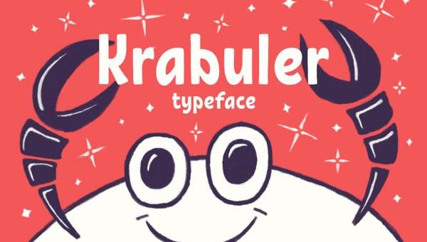 Krabuler Typeface Free