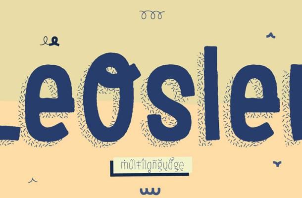 LeOsler Font Family Free