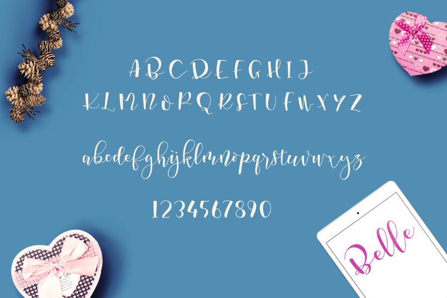 marsha-belle-script-font