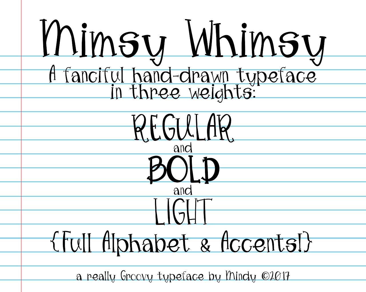 mimsy-whimsy-typeface