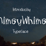 Mimsy Whimsy Typeface Free