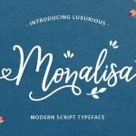 Monalisa Luxurious Script Font Free