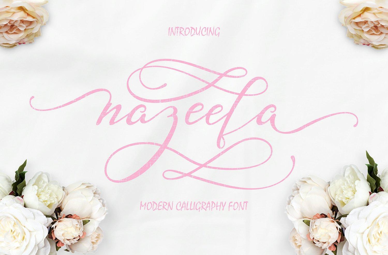 nazeefa-script-font