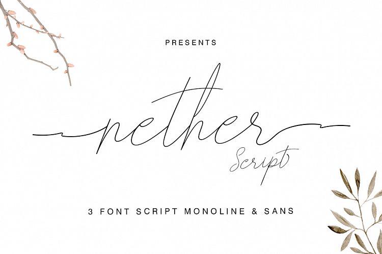 nether-handwritten-font