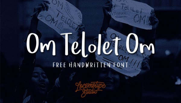 Om Telolet Om Font Free