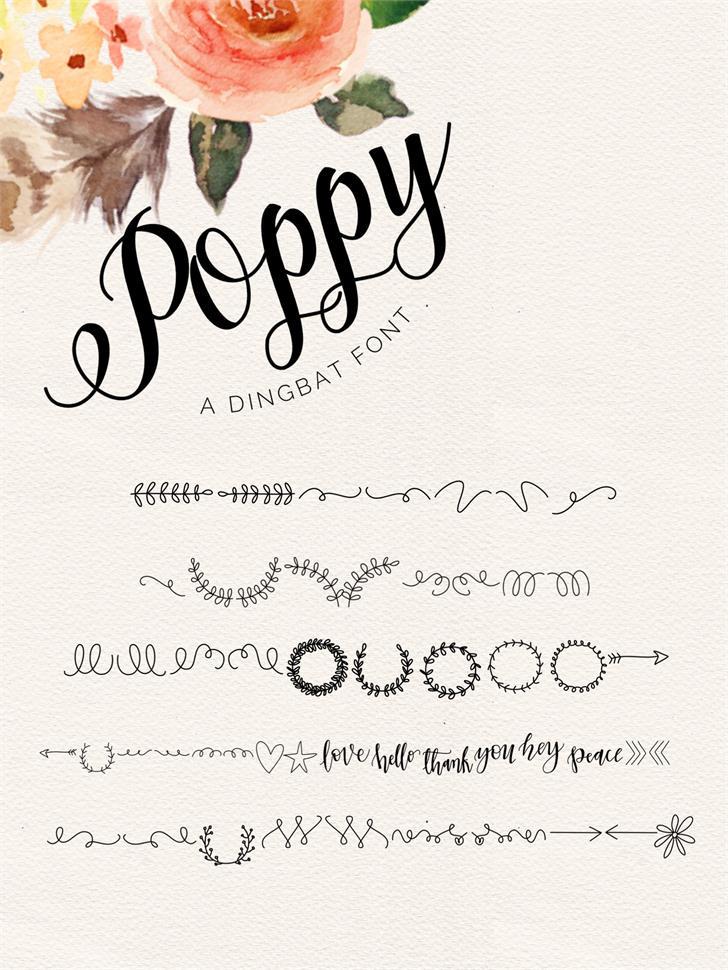 poppy-script-font-1