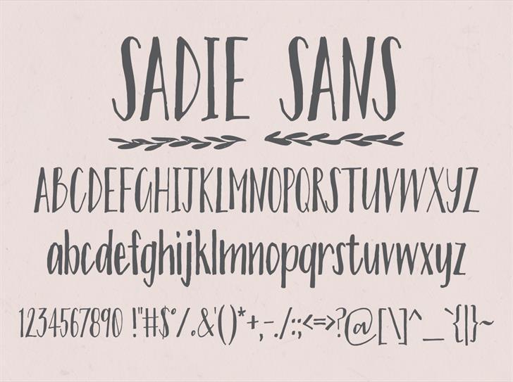 sadie-sans-font