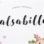 Salsabilla Script Font Free