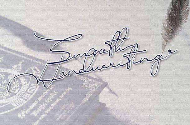 Smooth Signature Font Free