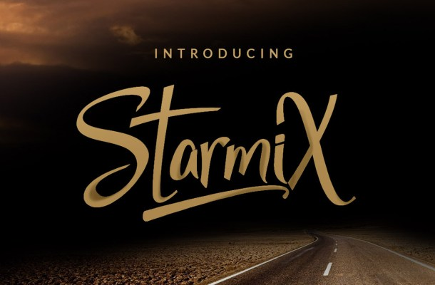 StarmiX Script Font Free