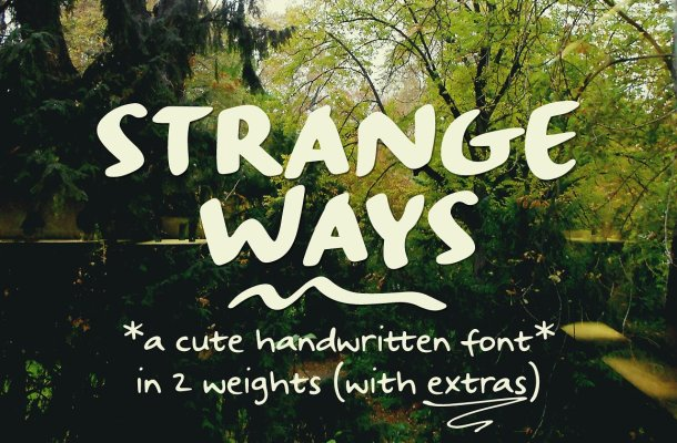 Strangeways Sample Font Free
