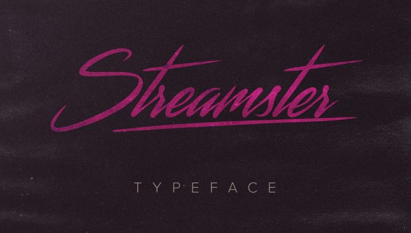 Streamster Font Free