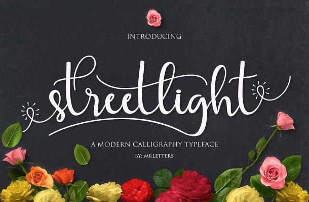 Streetlight Script Font Free