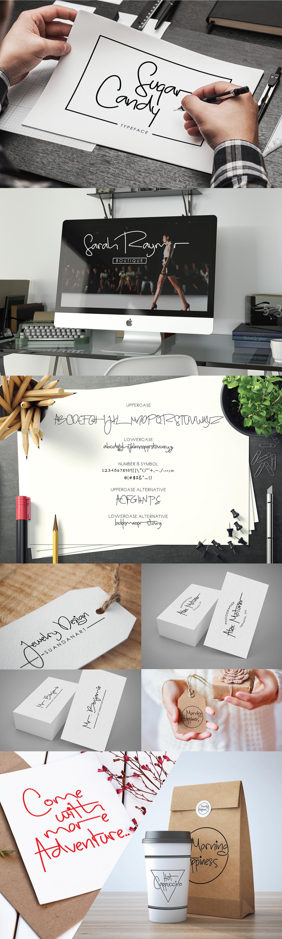 sugar-candy-signature-font