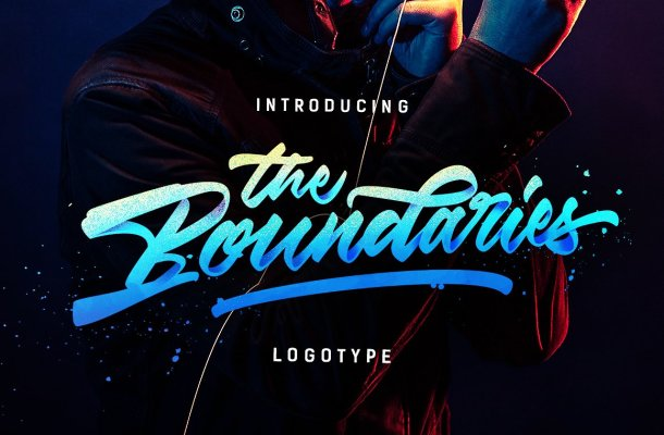 The Boundaries Logotype Free