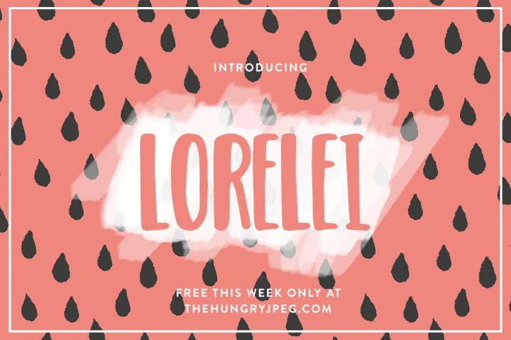 the-lorelei-font