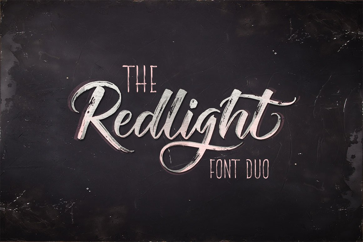 the-redlight-font-duo